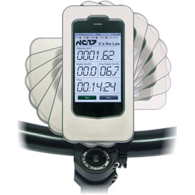 NC-17 Bike Mount Set incl. Wahoo iPhone Case, eloxiert